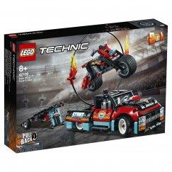 Набор лего - Конструктор LEGO Technic Шоу трюков на грузовиках и мотоциклах