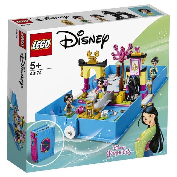 43174 Конструктор LEGO Disney Princess Книга приключений Мулан