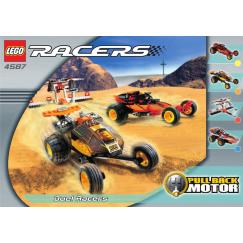 Набор лего - Конструктор LEGO Racers Дуэль гонщиков