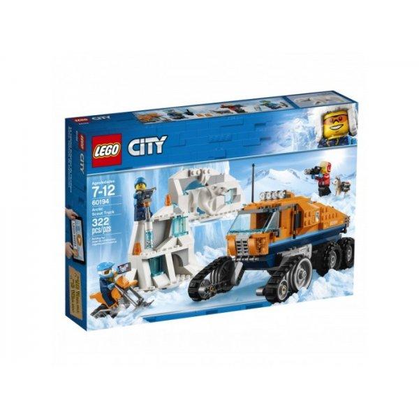LEGO City 60194 Арктическая экспедиция: Грузовик ледовой разведки