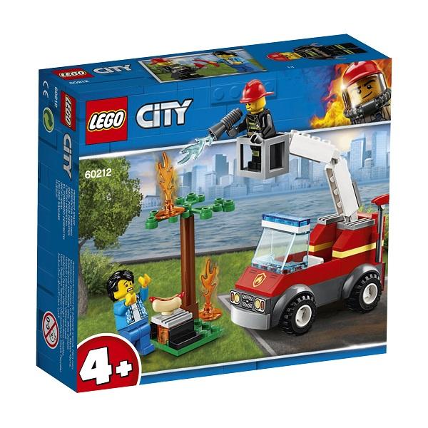 60212 LEGO CITY Пожарные: Пожар на пикнике 60212