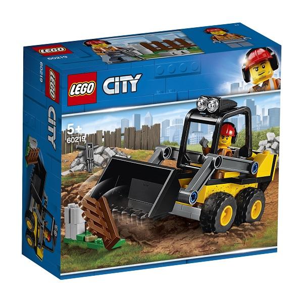 60219 LEGO CITY Транспорт: Строительный погрузчик 60219