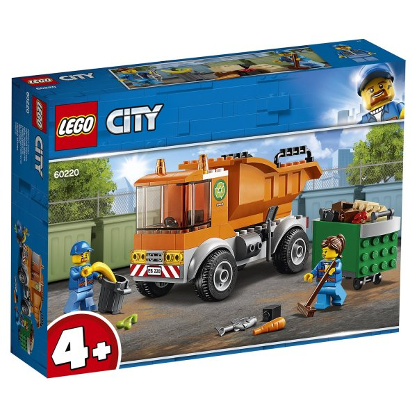 60220 LEGO CITY Транспорт: Мусоровоз 60220