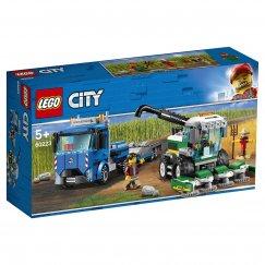 Конструктор LEGO City Транспортировщик для комбайнов