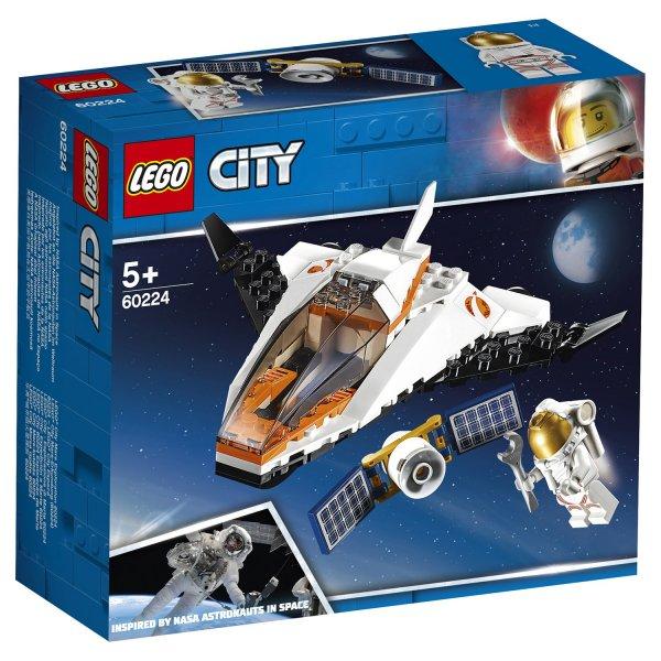 60224 Конструктор LEGO City Space Port Миссия по ремонту спутника