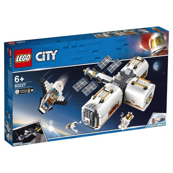 60227 Конструктор LEGO City Space Port Лунная космическая станция