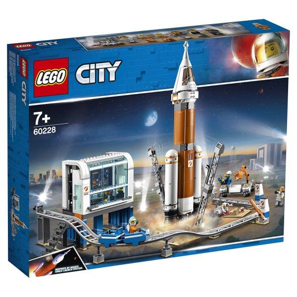 Конструктор LEGO City Ракета для запуска в далекий космос и пульт управления запуском