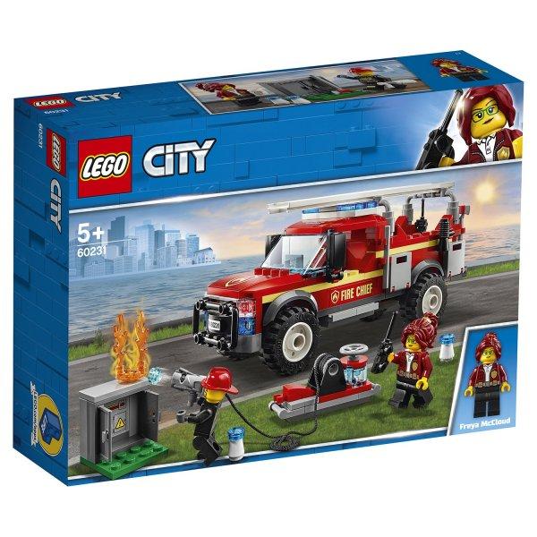 60231 Конструктор LEGO City Town Грузовик начальника пожарной охраны