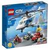 Набор лего - Конструктор LEGO City 60243 Погоня на полицейском вертолёте