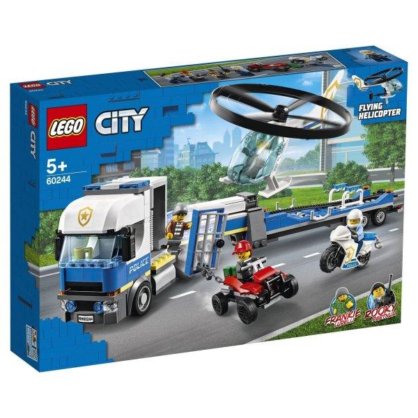 60244 Конструктор LEGO City Police Полицейский вертолетный транспорт