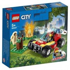 Набор лего - Конструктор LEGO City 60247 Лесные пожарные