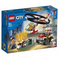 Набор лего - Конструктор LEGO City Fire Пожарный спасательный вертолет