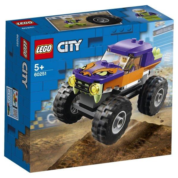 60251 Конструктор LEGO City 60251 Монстр-трак