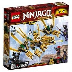 Набор лего - Конструктор LEGO Ninjago 70666 Золотой Дракон