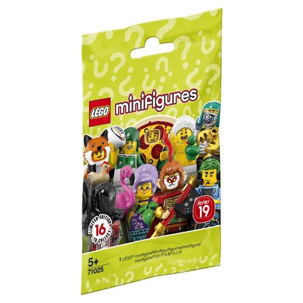 71025 Конструктор LEGO Collectable Minifigures 71025 Серия 19