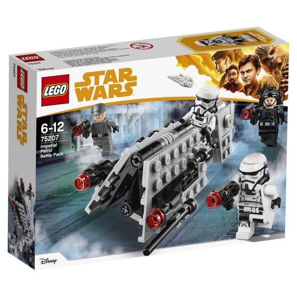 Набор Лего Конструктор LEGO Star Wars Боевой набор имперского патруля