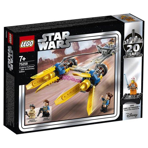 Набор Лего Конструктор LEGO Star Wars Гоночный под Энакина: выпуск к 20-летнему юбилею