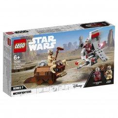 Набор лего - Конструктор LEGO Star Wars 75265 Микрофайтеры: Скайхоппер T-16 против Банты