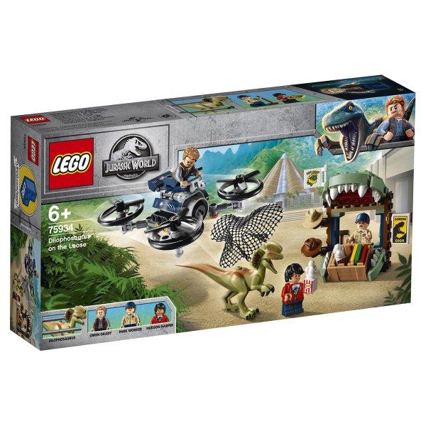75934 Конструктор LEGO Jurassic World 75934 Побег дилофозавра