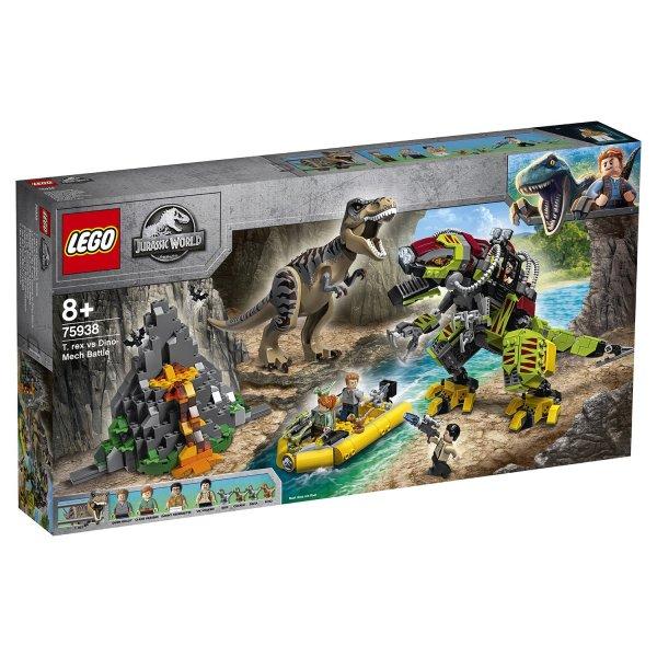 Конструктор LEGO Jurassic World Бой тираннозавра и робота-динозавра