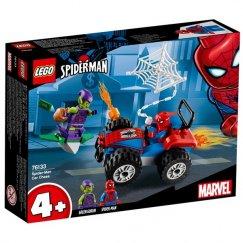 Конструктор LEGO Marvel Super Heroes Автомобильная погоня Человека-паука