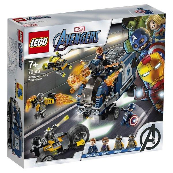 Набор Лего Конструктор LEGO Super Heroes Мстители Нападение на грузовик