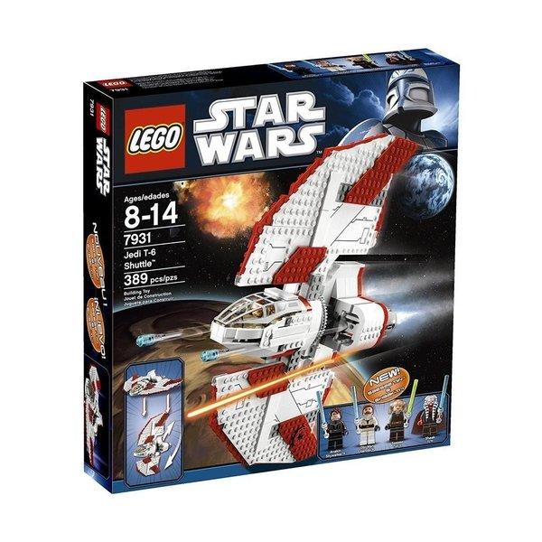 Набор Лего Конструктор LEGO Star Wars Шатл джедаев Т-6