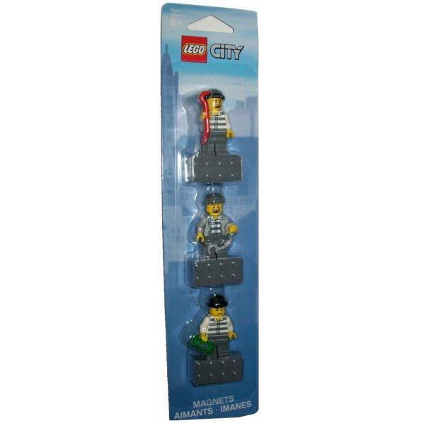 Lego Магниты 853092 Конструктор Lego Аксессуары Lego Набор магнитов Лего Сити Воришки