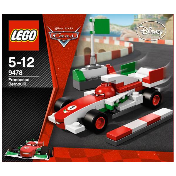 9478 Конструктор LEGO Cars Франческо Бернулли