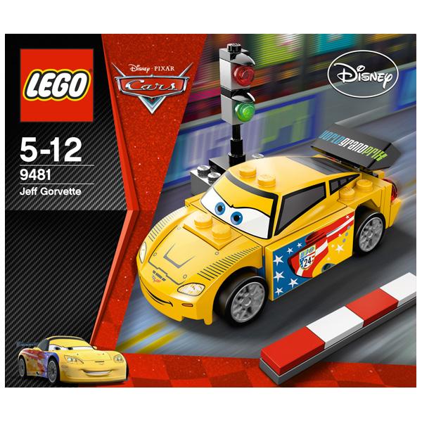 9481 Конструктор LEGO Cars Джеф Горвет
