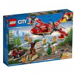 Конструктор LEGO City Fire Пожарный самолет 60217