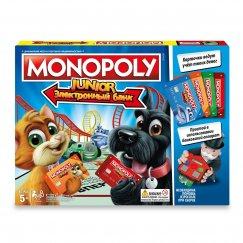 Настольная игра Monopoly Моя первая Монополия с терминалом