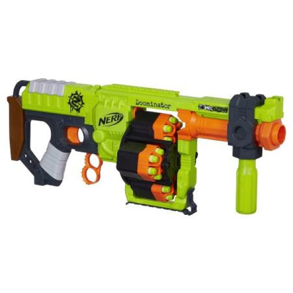 Бластеры NERF NF-B1532 Бластер NERF Zombie Strike Doominator