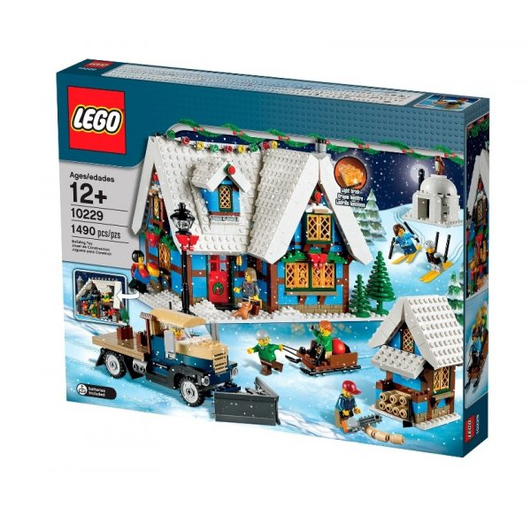 LEGO Эксклюзив 10229 Зимний деревенский коттедж