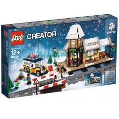 LEGO Creator 10259 Зимняя железнодорожная станция
