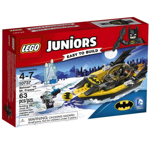 LEGO Juniors 10737 Бэтмен против Мистера Фриза