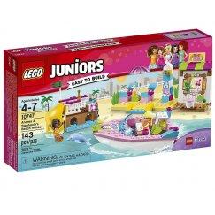 Набор лего - Конструктор LEGO Juniors 10747 Отпуск на пляже с Андреа и Стефани