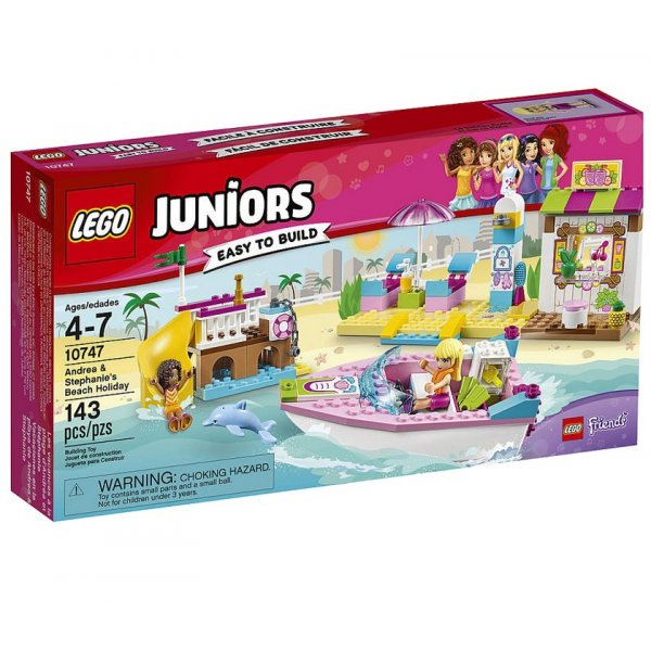 LEGO Juniors 10747 День на пляже с Андреа и Стефани