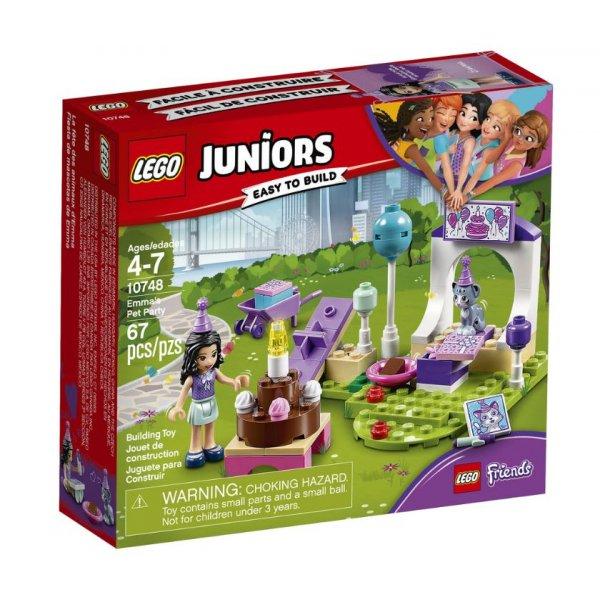 LEGO Juniors 10748 Вечеринка Эммы для питомцев
