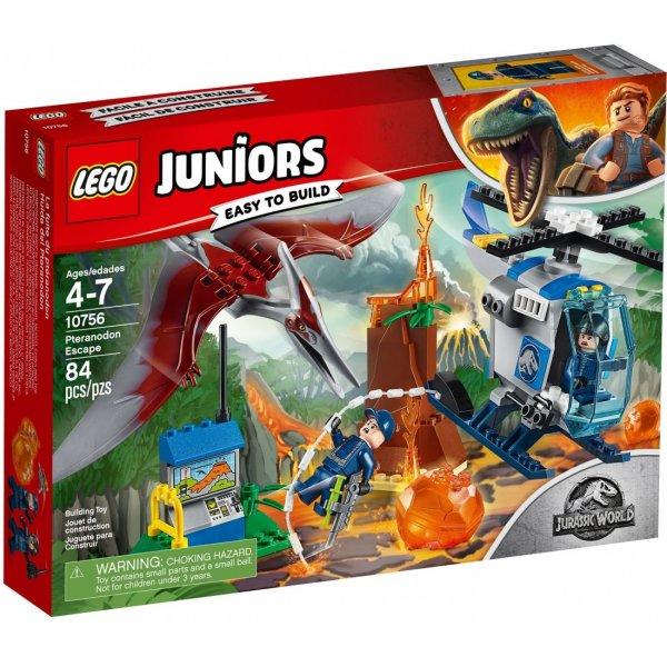 Набор Лего Конструктор LEGO Juniors 10756 Побег Птеранодона