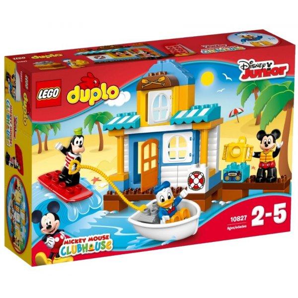 LEGO Duplo 10827 Микки и его друзья: Домик на пляже
