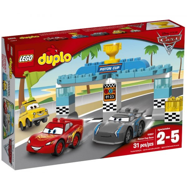 LEGO Duplo 10857 Гонка за Кубок Поршня
