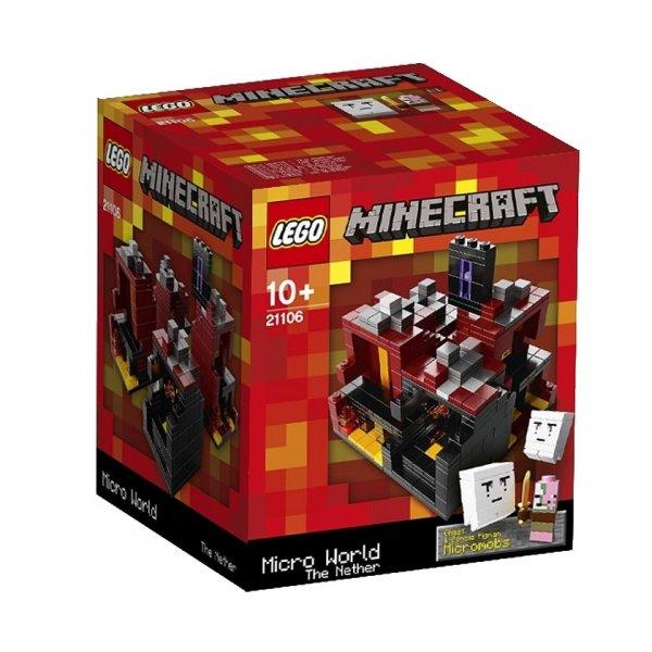 LEGO Minecraft 21106 Майнкрафт микро мир: Нижний мир