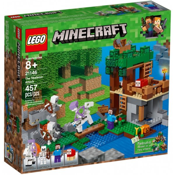 Набор Лего Нападение армии скелетов