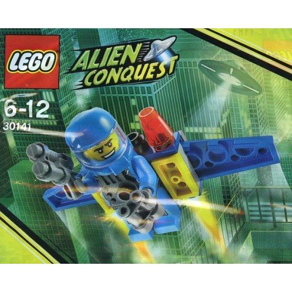 LEGO Minifigures 30141 Защитник Земли №6 с реактивным ранцем