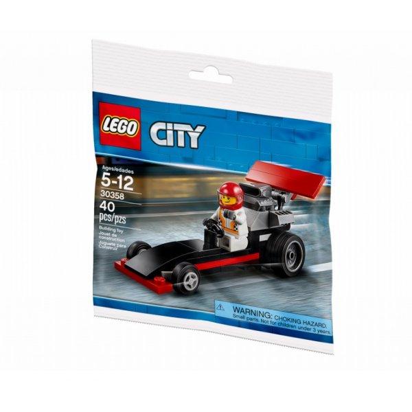 LEGO City 30358 Драгстер