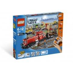 Набор лего - Красный товарный поезд