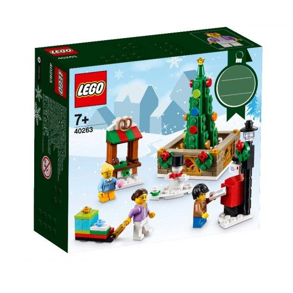 LEGO Seasonal 40263 Новогодняя городская площадь