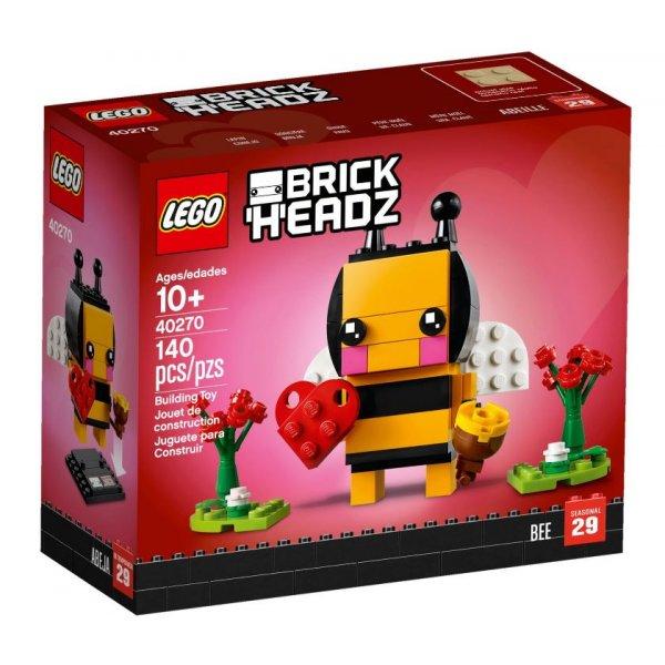 LEGO BrickHeadz 40270 День Святого Валентина: Пчёлка