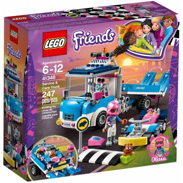 Набор Лего Конструктор LEGO Friends 41348 Грузовик техобслуживания